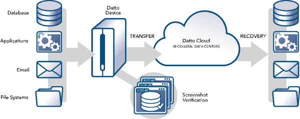 Using Datto backup services